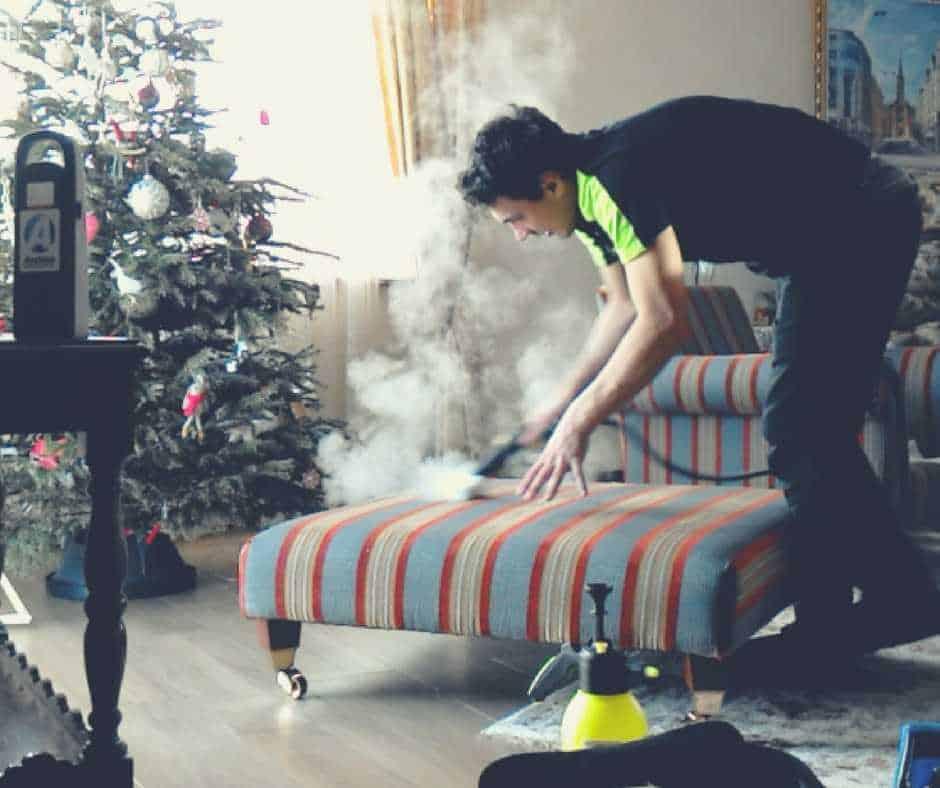 tvaika tīrīšana