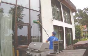 Profesionāla logu mazgāšana